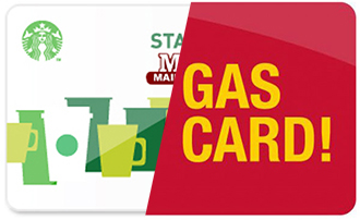 Gift Starbuck or Gas Card
